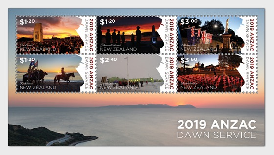 2019 ANZAC: Dawn Service Mint Miniature Sheet - Miniature Sheet