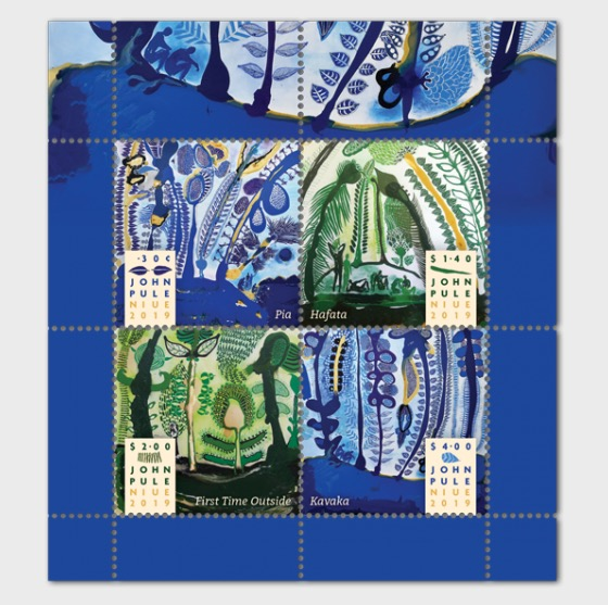 2019 John Pule Niue Mint Miniature Sheet  - Miniature Sheet