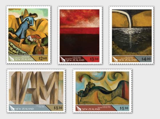 2019 Colin McCahon 1919-1987 Set of Mint Stamps - Set