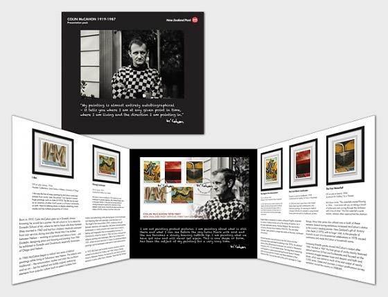 2019 Colin McCahon 1919-1987 Presentation Pack - Presentation Pack