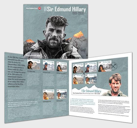 2019 Sir Edmund Hillary 1919-2008 Presentation Pack - Presentation Pack