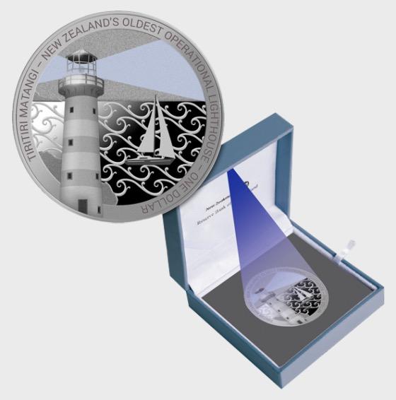2019 Tiritiri Matangi Silbermunze - Einzelne Münze