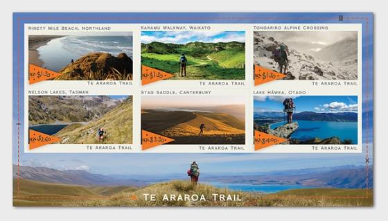 2019 Te Araroa Trail Mint Miniature Sheet - Miniature Sheet