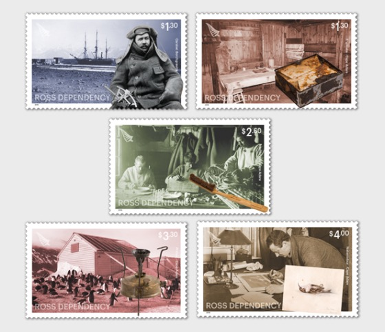 2019 Ross Dependency: Cape Adare Set of Mint Stamps - Set