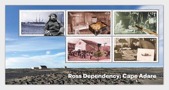 Dependencia de Ross - Cabo Adare - Hojas Bloque