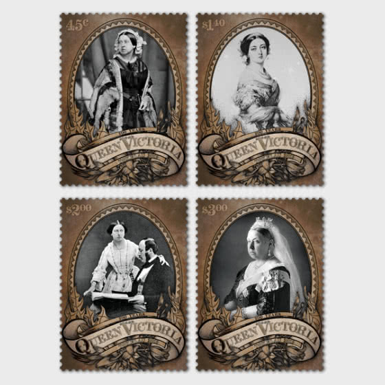 2019 Tokelau Queen Victoria 200 Years Set of Mint Stamps - Set