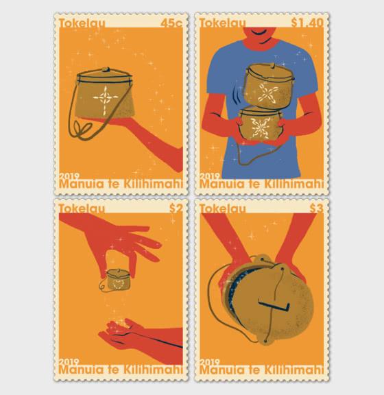 Tokelau Christmas 2019 Set of Mint Stamps - Set