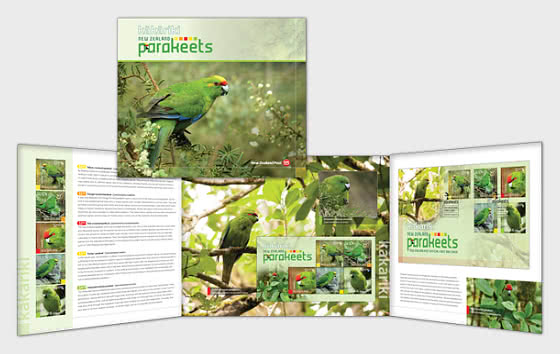 2020 Kakariki - New Zealand Parakeets Presentation Pack - Presentation Pack