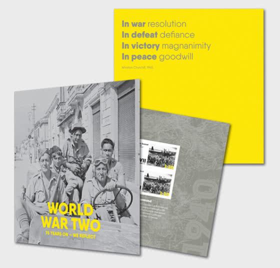 Segunda Guerra Mundial - 75 Años - Coleccionable