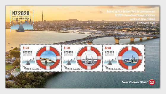 NZ2020 International Stamp Exhibition Maritime Mint Miniature Sheet - Miniature Sheet