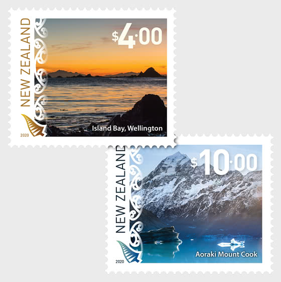 2020 Scenic Definitives Set of Mint Stamps - Set