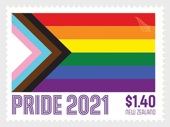 2021 Pride Set of Mint Stamps - Set