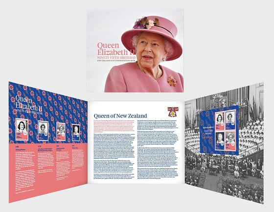 2021 Queen Elizabeth II Ninety-Fifth Birthday Presentation Pack - Presentation Pack