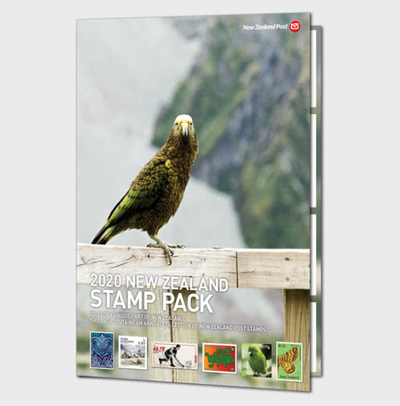 2020 Stamp Pack - Year Collections