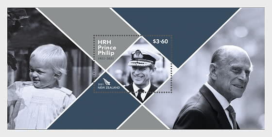 HRH Prince Philip 1921 - 2021 Mint Miniature Sheet - Miniature Sheet