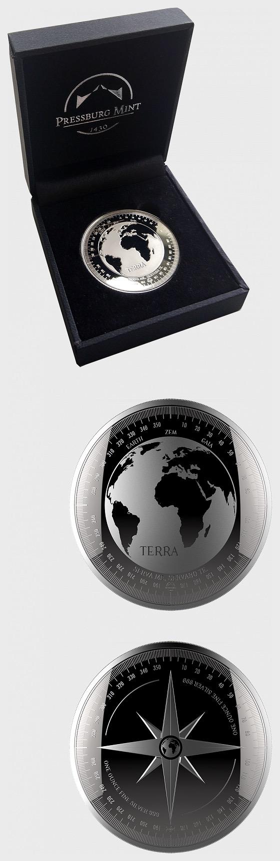 Terra - Brilliant Uncirculated - Gift Box - Silver Bullion