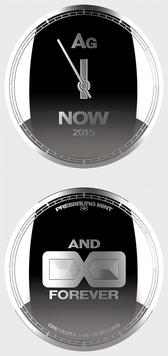 Chronos 2015 - Medallion Bullion -Capsule - Silver Bullion