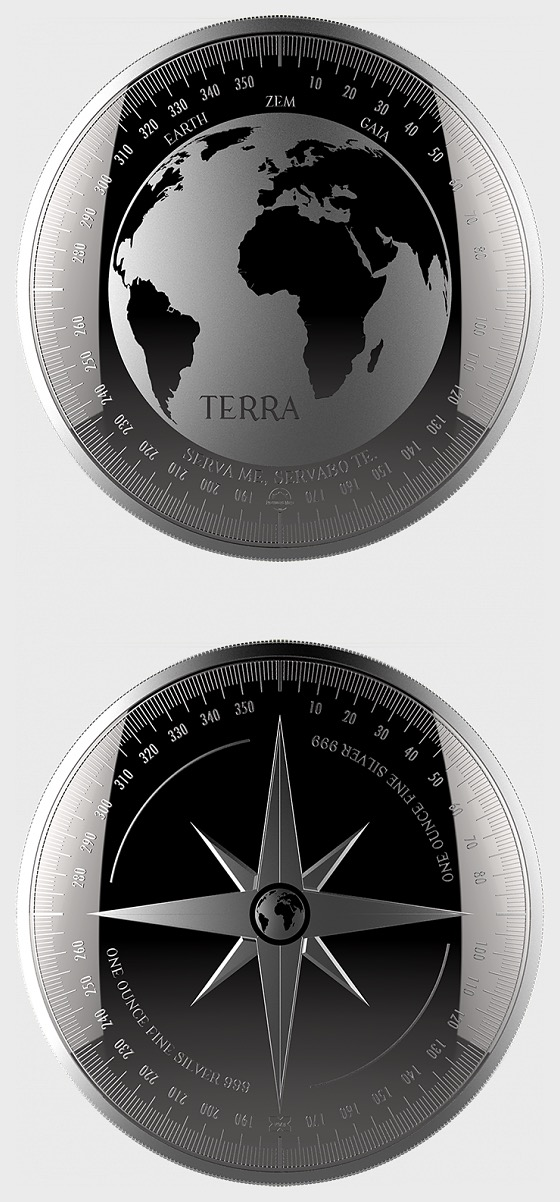 Terra - Bullion - Single Coin Capsule - Silver Bullion