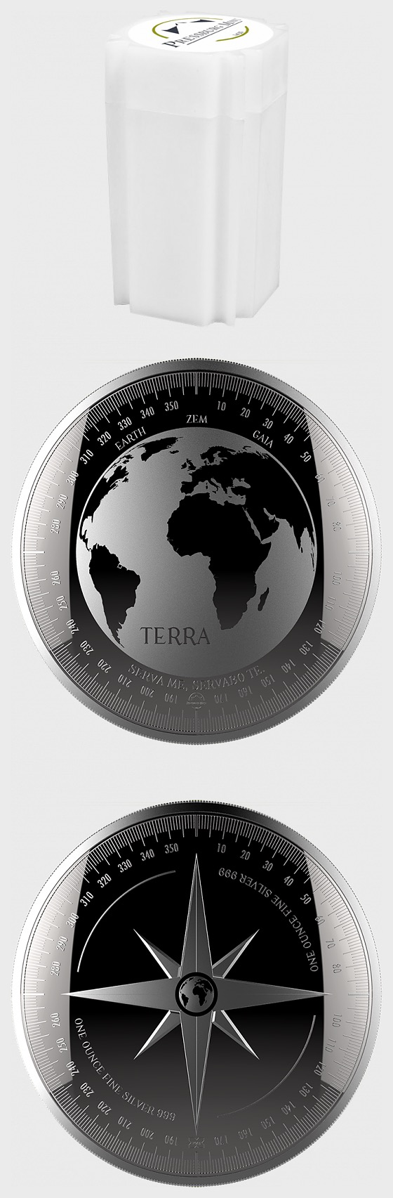 Terra - Tube of 20 Bullion - Coin Tube