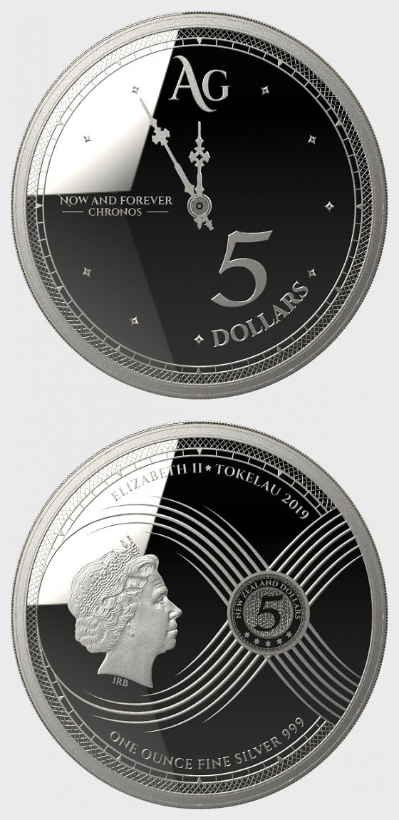 Chronos 2019 - Bullion - Single Coin Capsule - Bullion