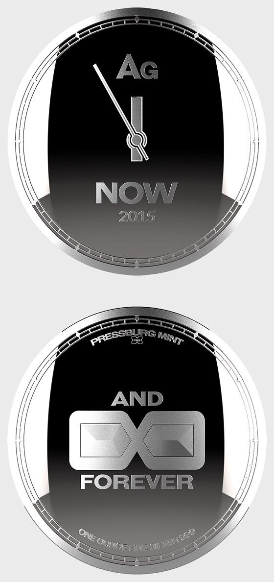 Chronos 2015 - Medallion Brilliant Uncirculated -Capsule - Single Coin