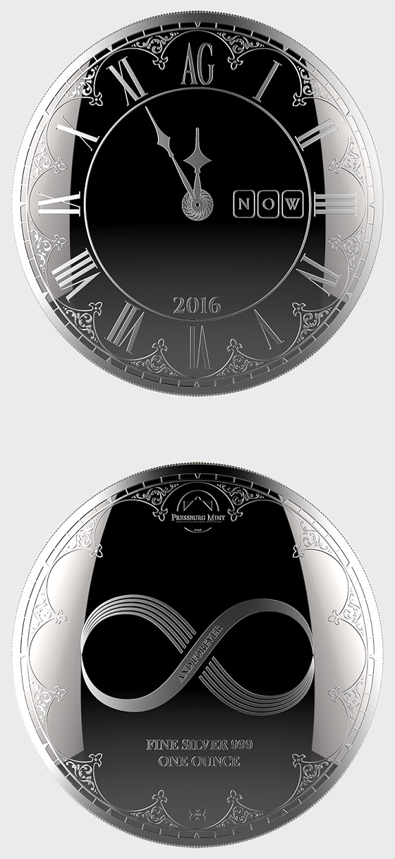 Chronos 2016 - Medallion Brilliant Uncircultated - Capsule - Silver Bullion