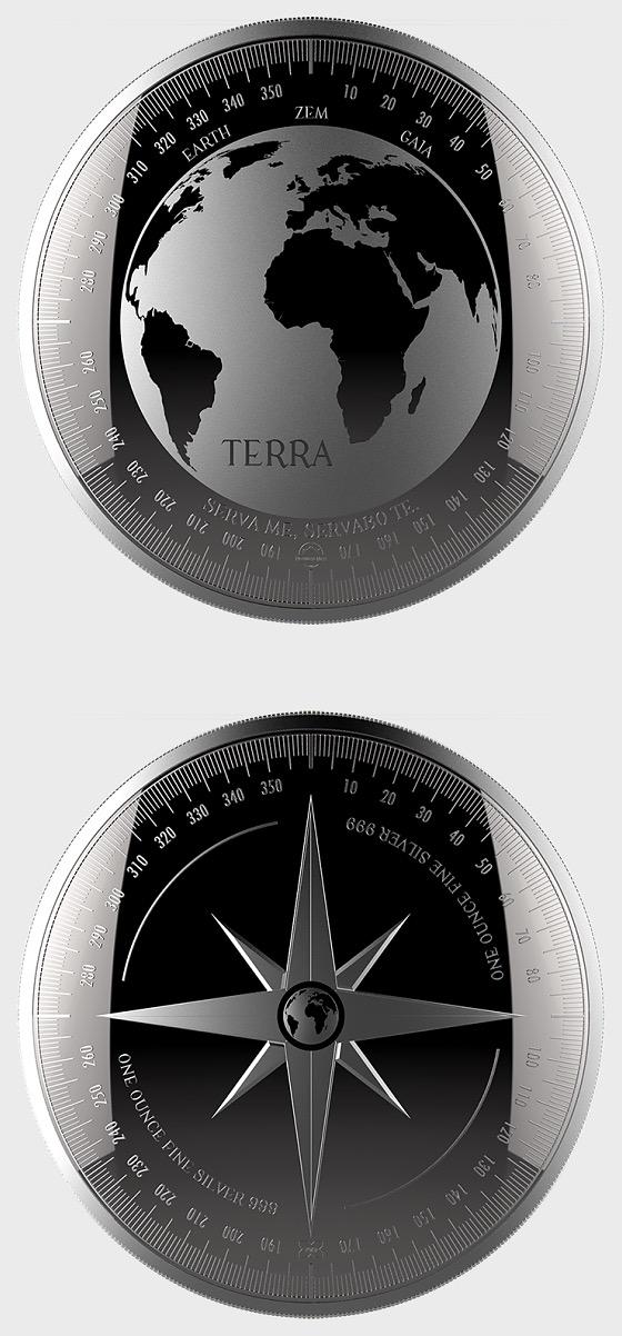 Terra -Medallion Proof Like - Capsule - Silver Coin