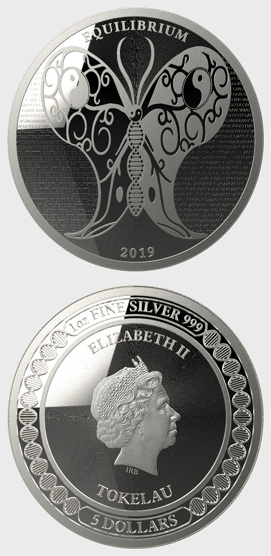 Equilibrium 2019 - Brilliant Uncirculated - Capsula - Piece d'argent
