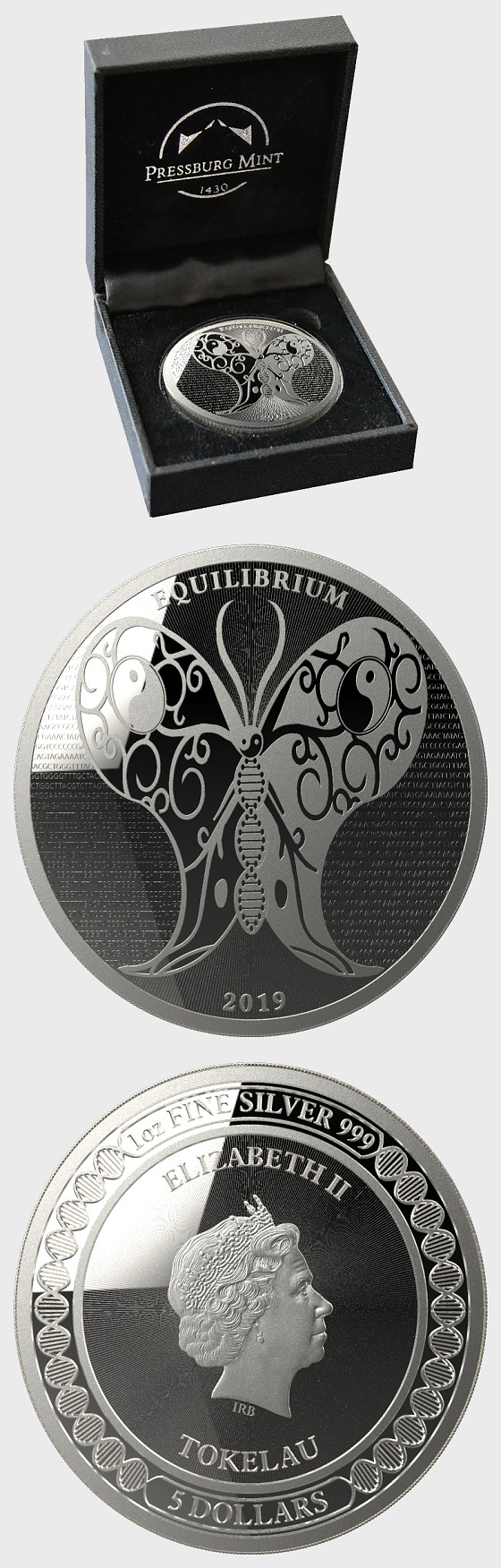 Equilibrium 2019 - Brilliant Uncirculated - Geschenkbox - Silbermünze