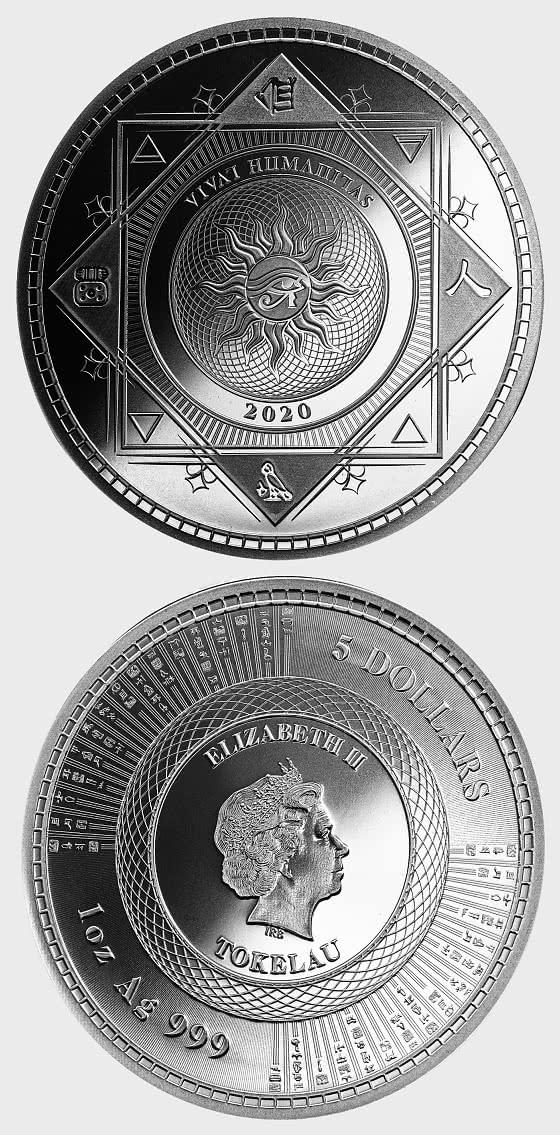Vivat Humanitas 2020 - Bullion - Single Coin Capsule - Silver Bullion