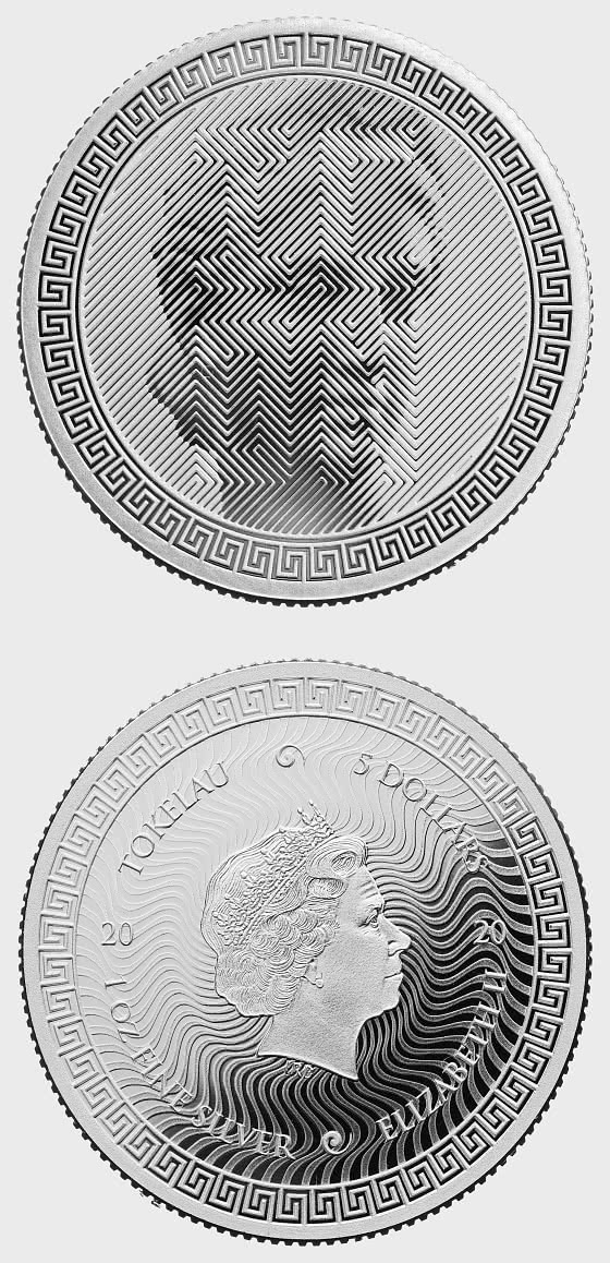 ICON 2020 - Bullion- Single Coin Capsule - Silver Coin