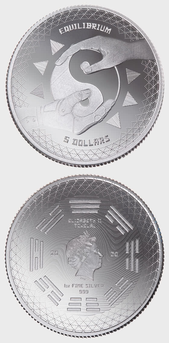 Equilibrium 2020 - Bullion - Single Coin Capsule - Silver Coin