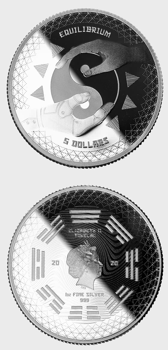 Equilibrium 2020 - Proof-Like - Single Coin Capsule - Silver Coin