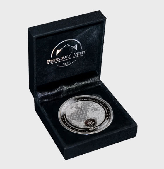 Terra 2021 - Proof-Like - Gift Box - 银币
