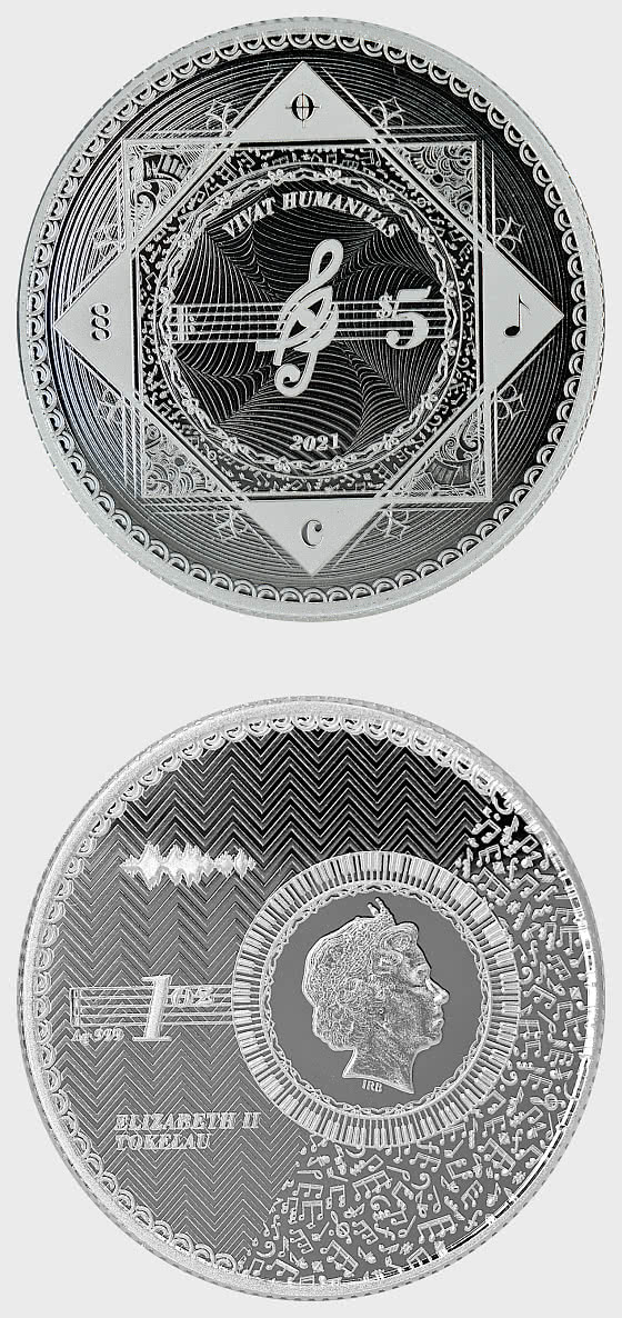 Vivat Humanitas 2021 - Proof-Like -  Single Coin Capsule - Silver Coin