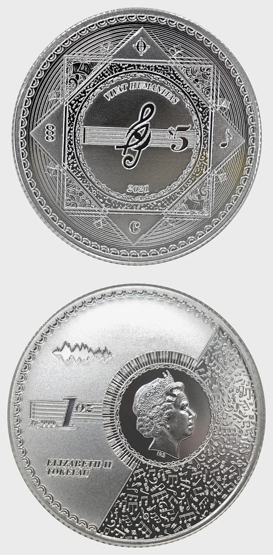 Vivat Humanitas 2021 - Bullion - Single Coin Capsule - Silver Coin
