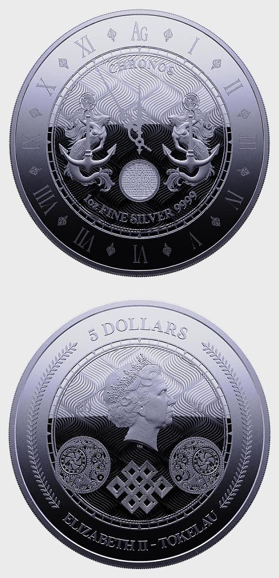 Chronos 2021 - Proof-Like - Single Coin Capsule - 银币