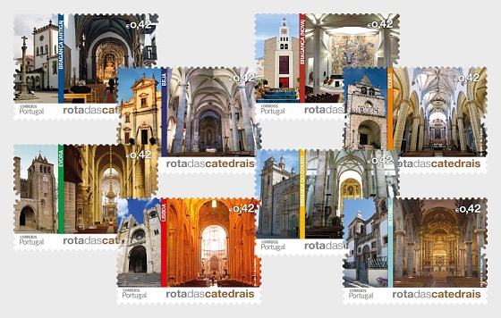 Route of the Portuguese Cathedrals 2014 - Set