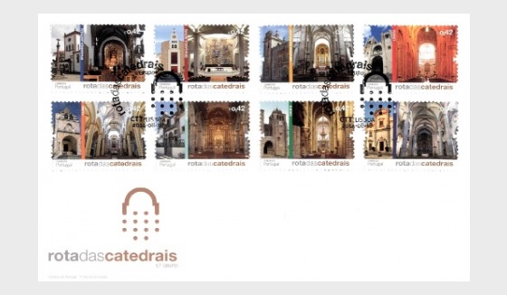 Route of the Portuguese Cathedrals 2014 - First Day Cover