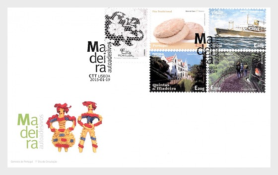 Madeira Self-adhesive II - First Day Cover