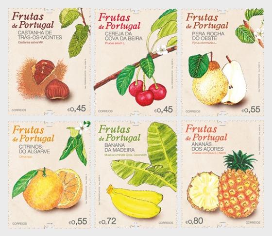 Portuguese Fruits - Set