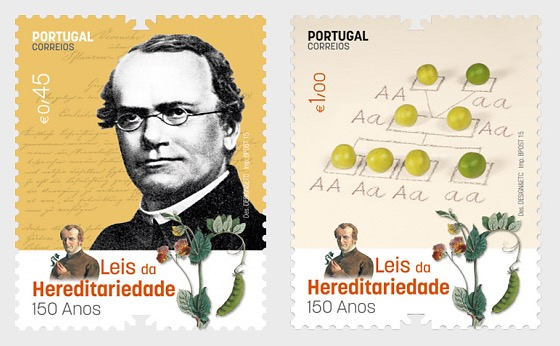 150 Years of the Discovery of the Laws of the Heredity - Set