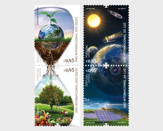 International Year Light and Soils - Set