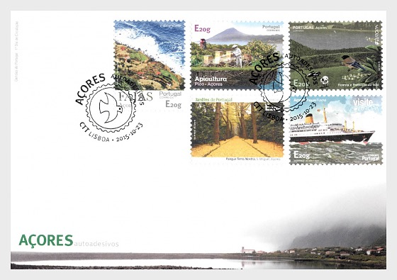 Azores Self-Adhesive Stamps - First Day Cover