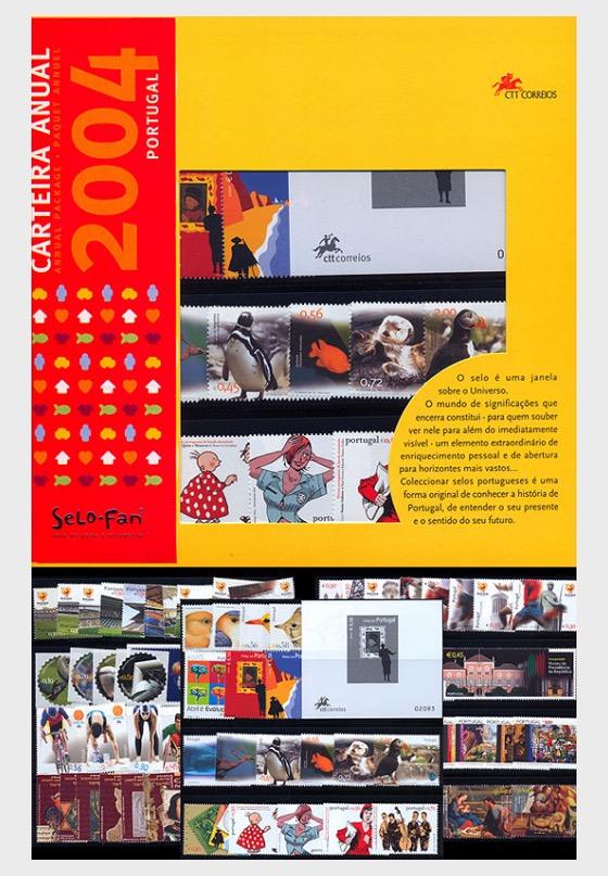 Jahresmappe  2004 - Jahresausgaben
