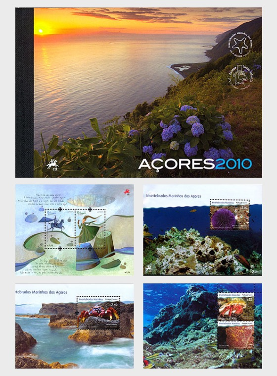 AZORES 2010 (MS Booklet) - Annual Product