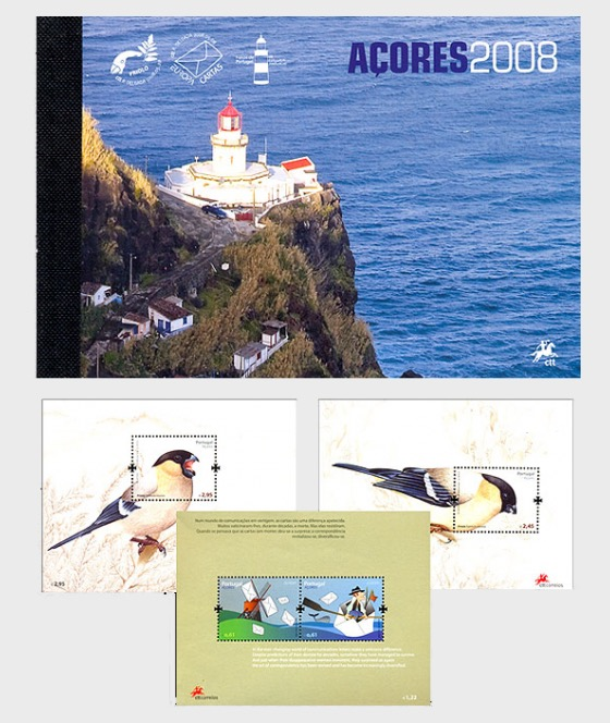 AZORES 2008 (MS Booklet) - Annual Product