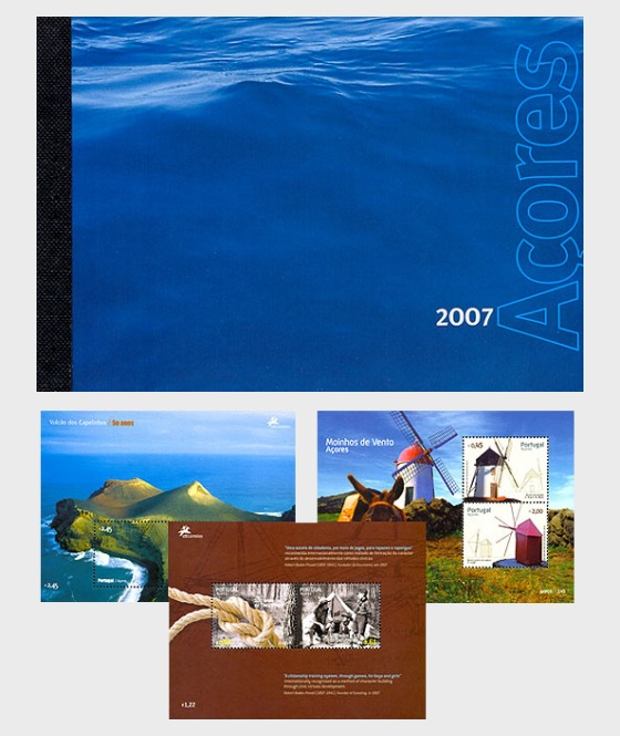 AZORES 2007 (MS Booklet) - Annual Product