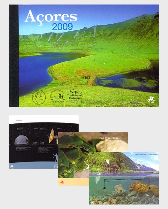 Azores 2009 (MS Booklet) - Stamp Booklet