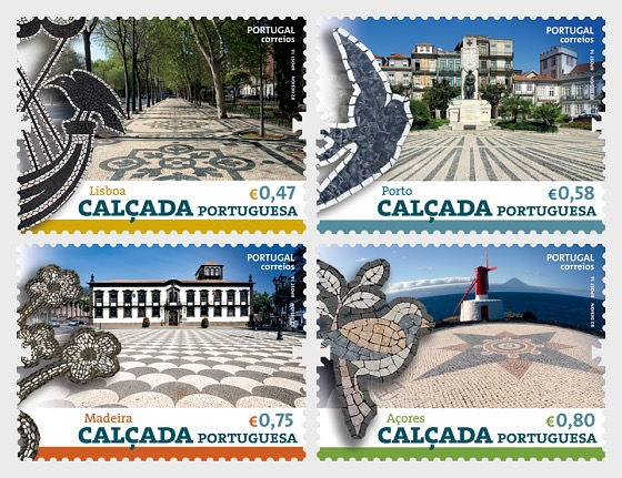 Portugiesisch Pavement - Serie